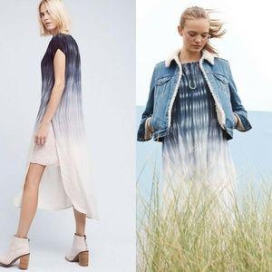 cloth & stone Dresses - Cloth & Stone Horizon Fade Tie Dye Tunic Dress